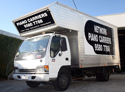 Network Piano Carriers Trucks